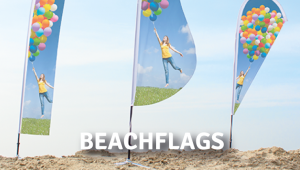 beachdrop, beachwave or beachflag in flag or lochfilet
